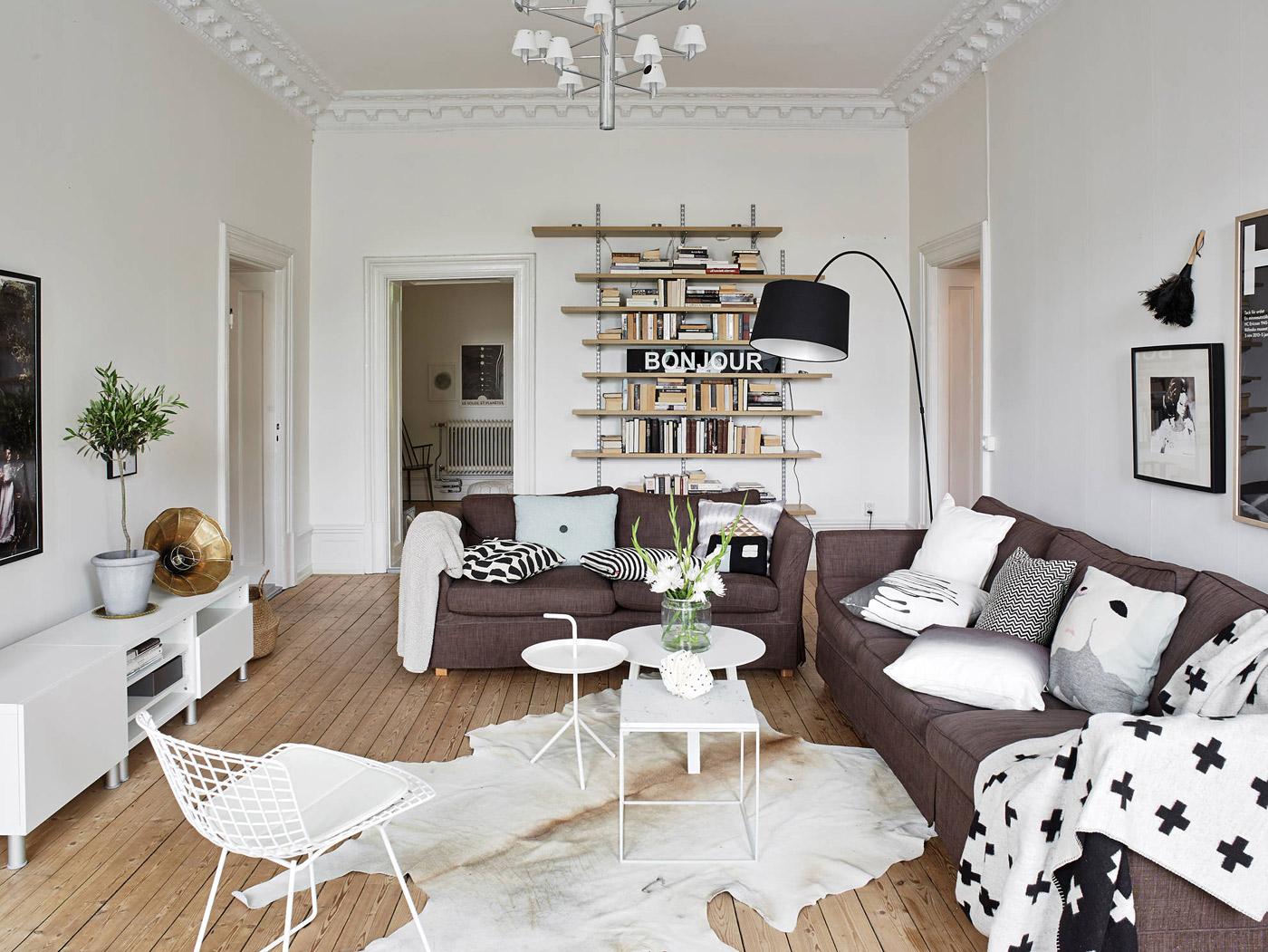 Skandinávský interiér
