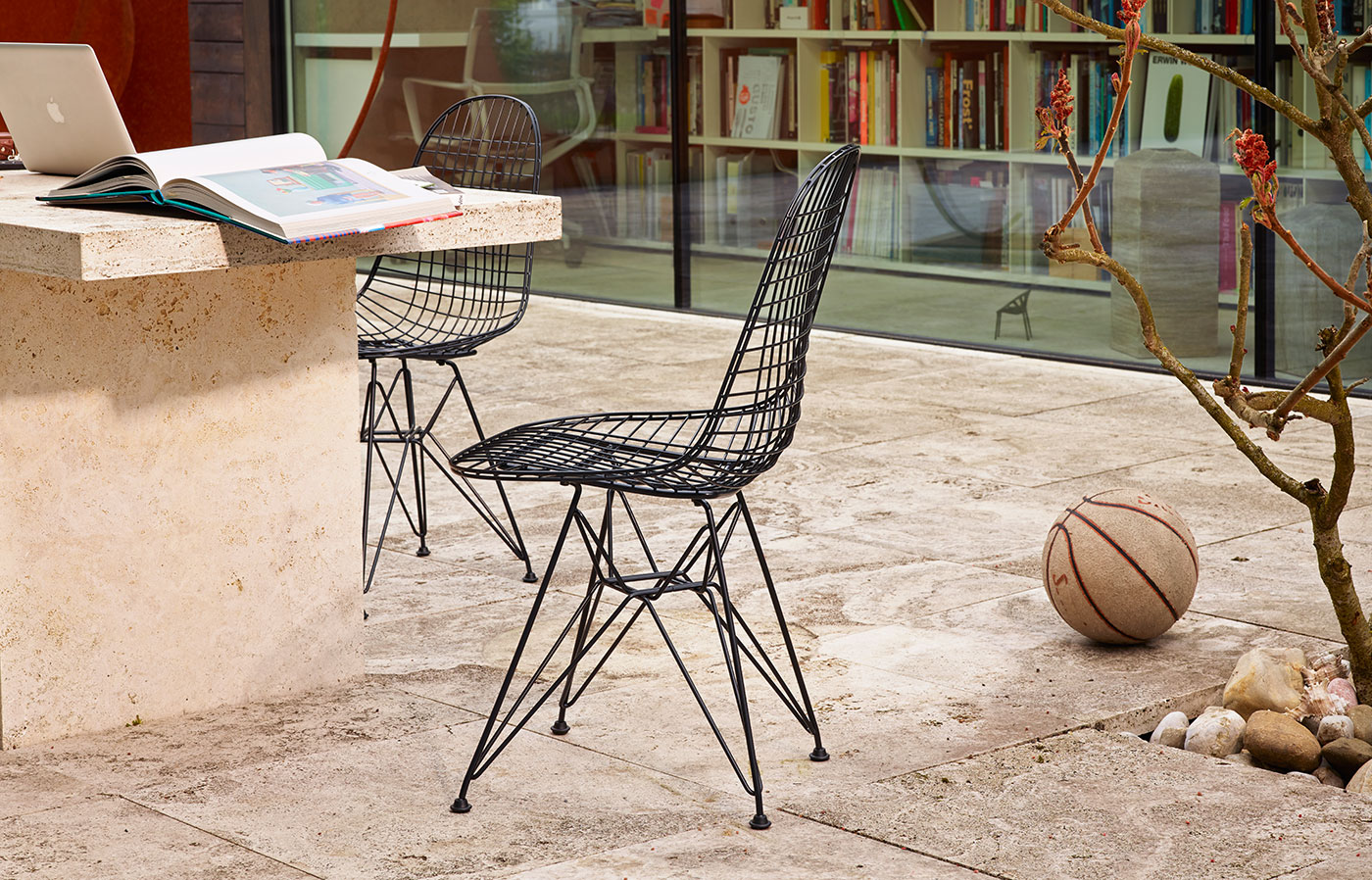 Vitra DKR Wire chair