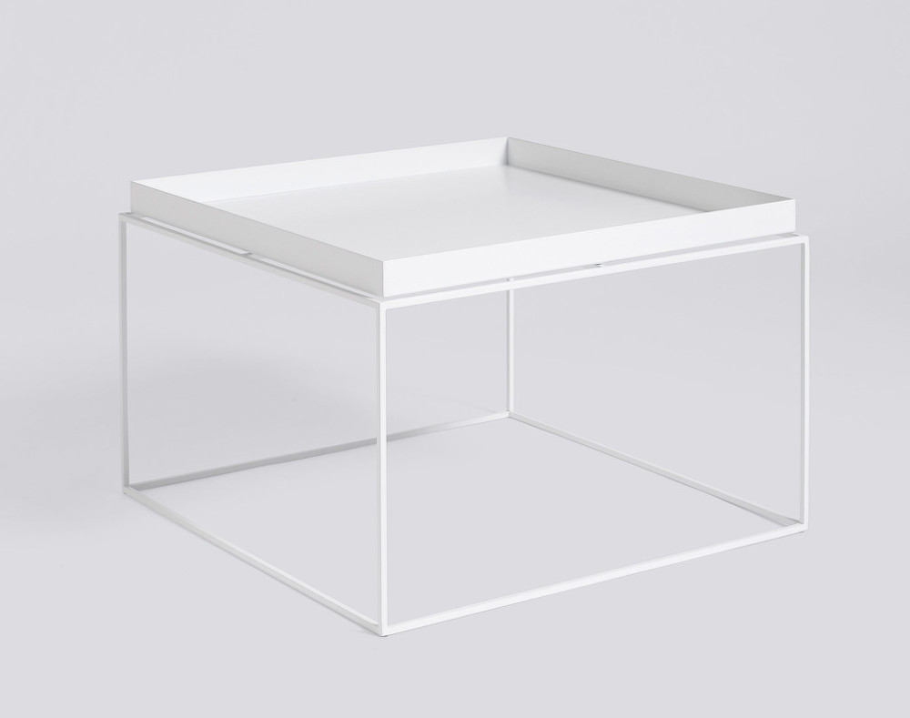 stolek tray table 60x60 white designville. Black Bedroom Furniture Sets. Home Design Ideas
