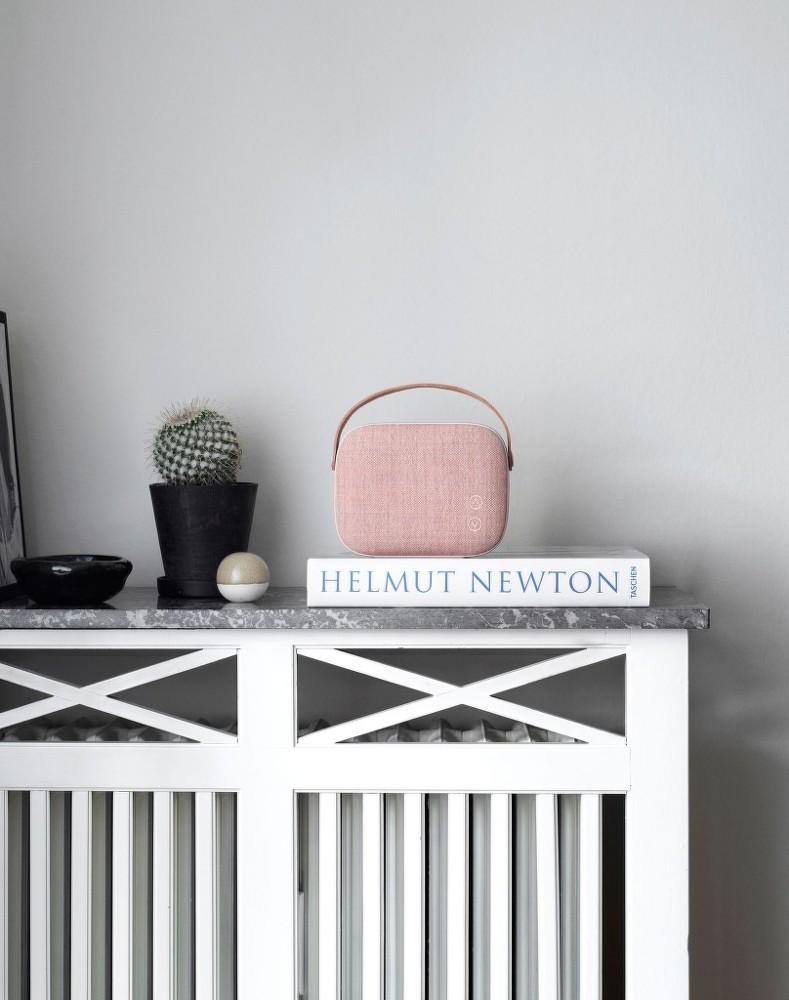 bluetooth reproduktor helsinki dusty rose designville. Black Bedroom Furniture Sets. Home Design Ideas