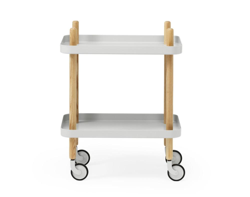 serv rovac stolek block table light grey designville. Black Bedroom Furniture Sets. Home Design Ideas