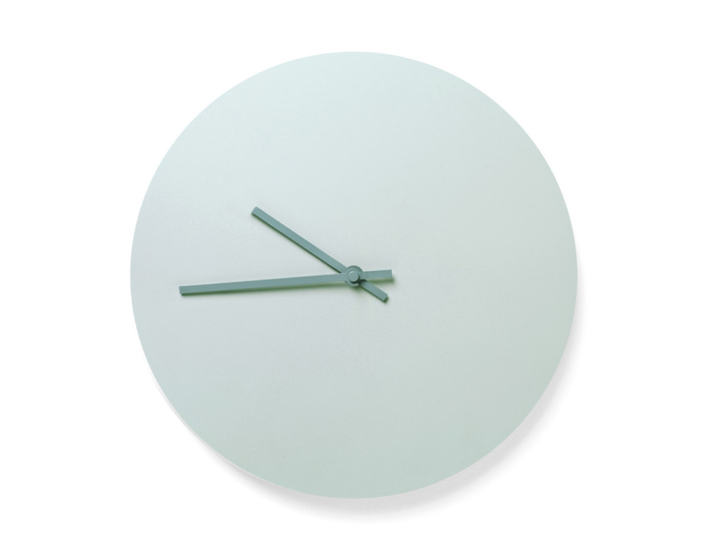 N 225 Stěnn 233 Hodiny Steel Wall Clock Od Menu Světle Zelen 233