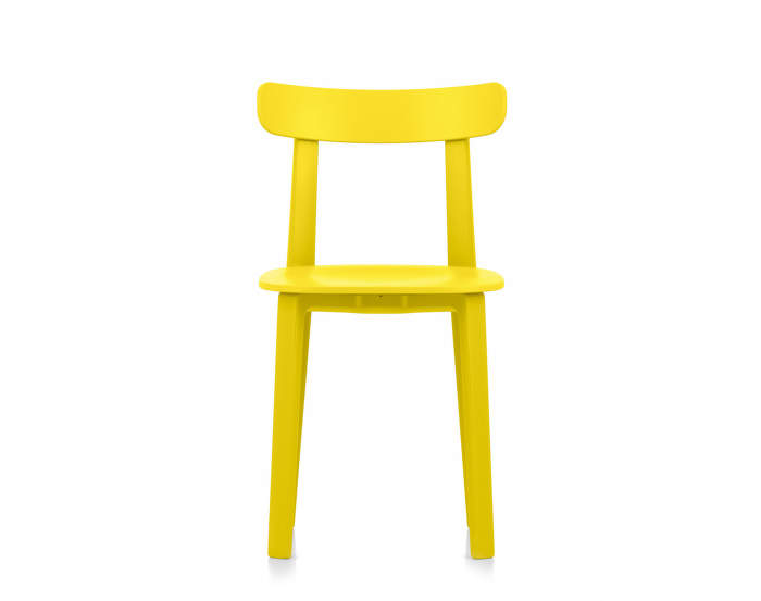 Židle Vitra All Plastic Chair, buttercup