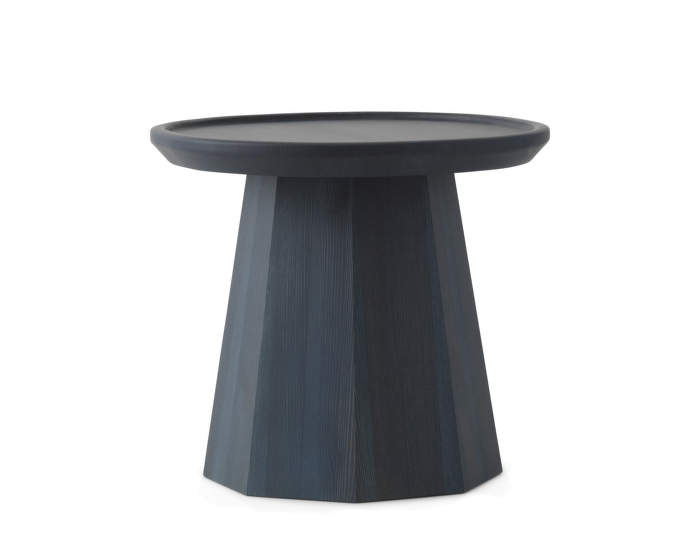 Pine Table Small Dark Blue