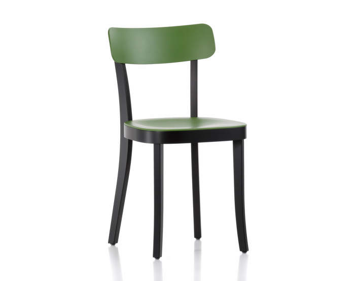 Basel Chair, cactus / black beech