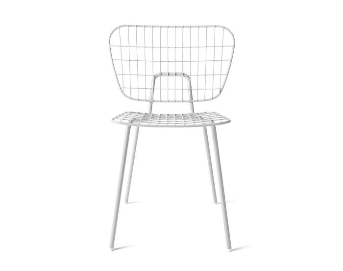 WM String Dining Chair, White