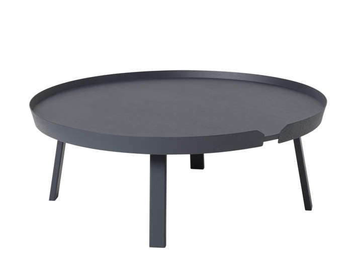 Stolek Around Coffee Table XL, antracit