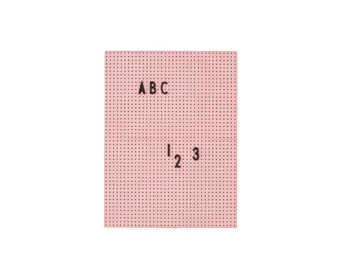 Tabule Message Board A4, pink