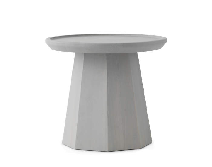 Pine Table Small Light Grey