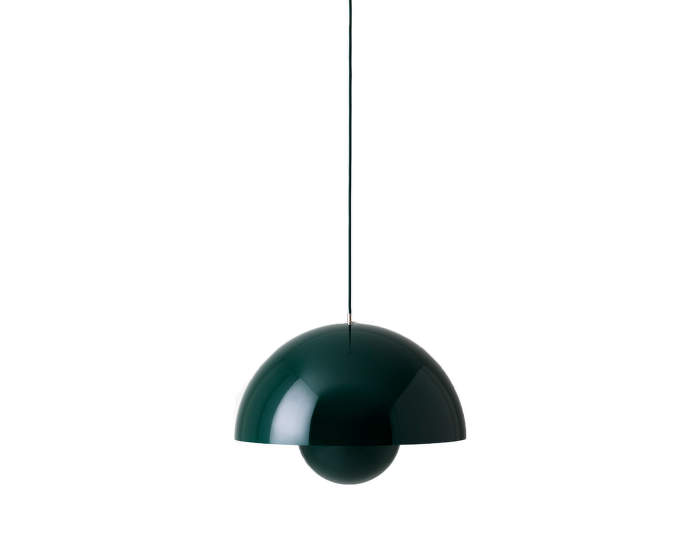 Flowerpot VP1, dark green