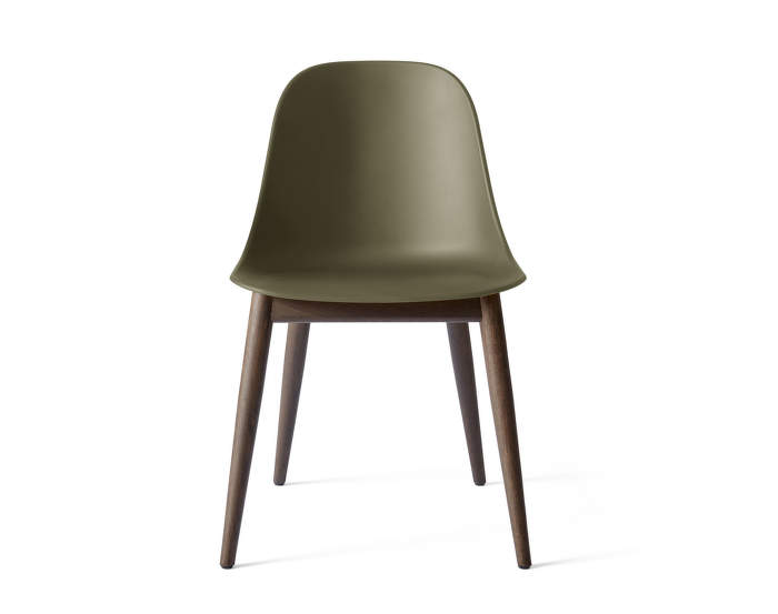 Harbour Side Chair Wood, olive / dark