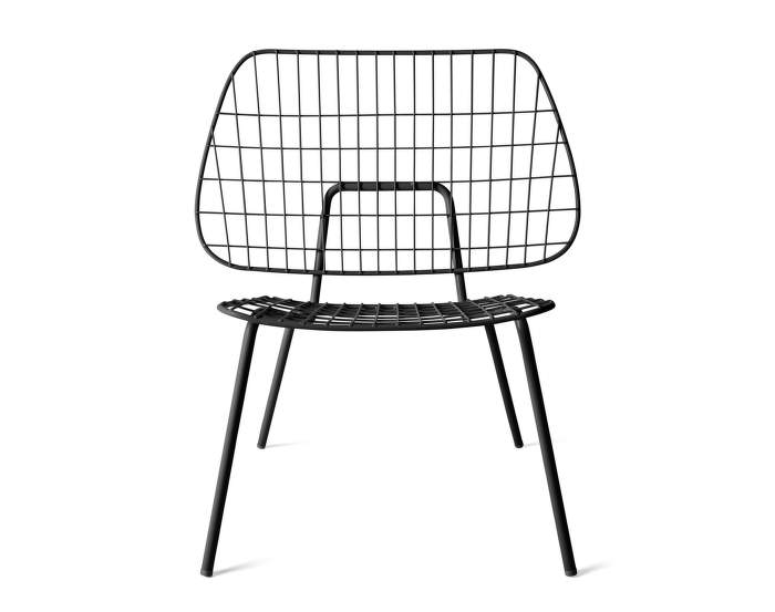 WM String Lounge Chair, Black