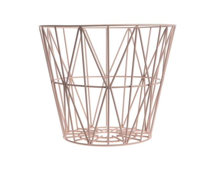 Wire Basket Rose Large