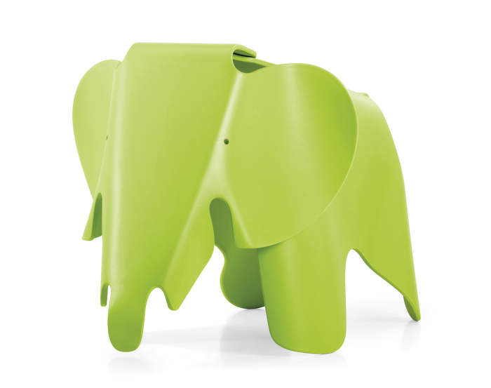 Vitra Eames Elephant, dark lime