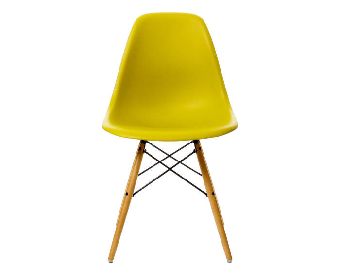 Židle Vitra Eames DSW, mustard