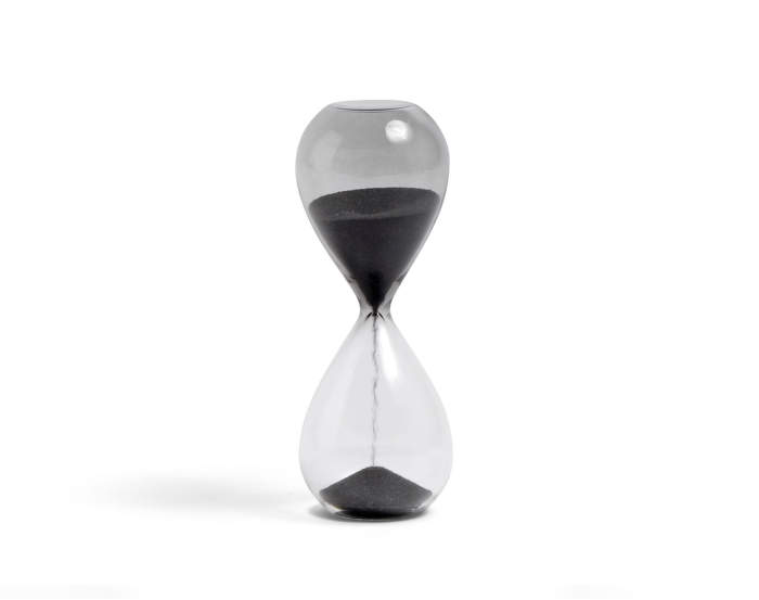 Hodiny Time S (3 min), black