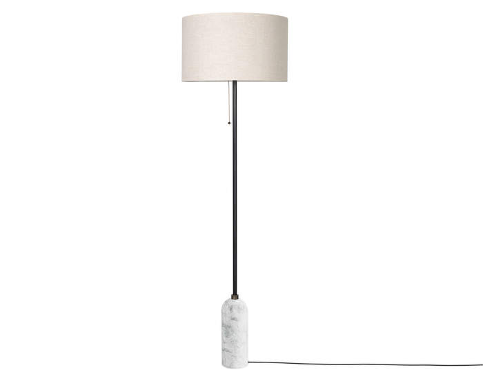 Gravity-floor-lamp-white-marble-canvas-shade