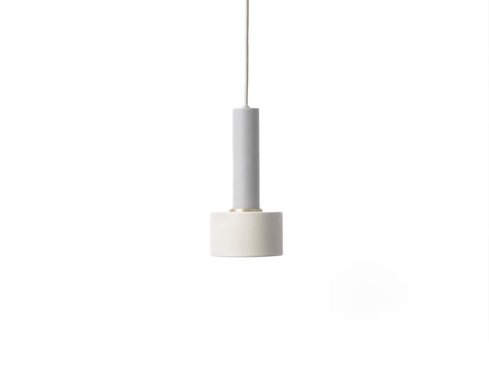 Lampa Collect Disk, Light Grey