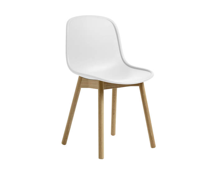 Židle Neu 13 Matt Lacquered Solid Oak, cream