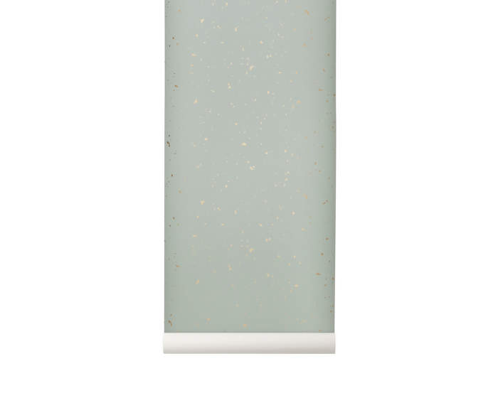 Wallpaper Confetti, mint, Ferm Living
