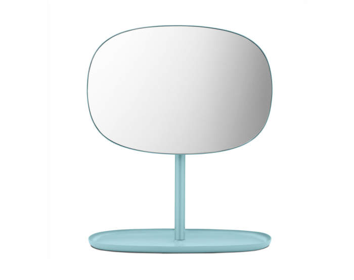 Zrcadlo Flip od Normann Copenhagen, dusty blue