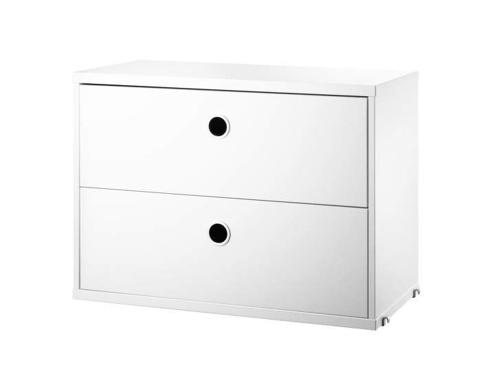 Komoda String Chest With Drawers 58 x 30, white