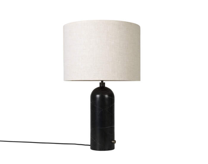Stolní lampa Gravity small, black marble