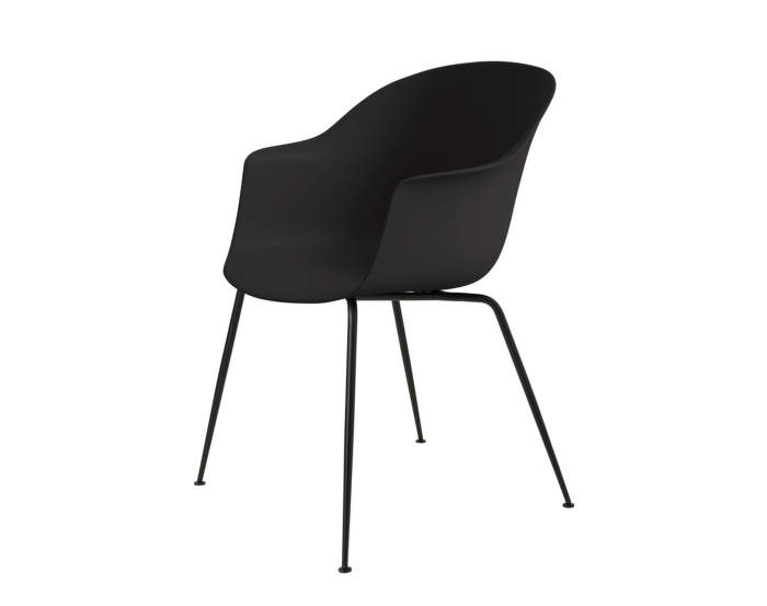 Bat Dining Chair, nečalouněná, black