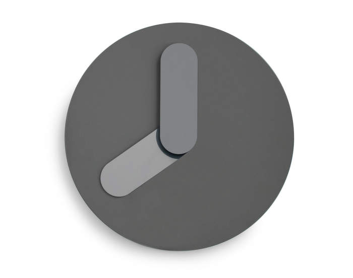 Bold Wall Clock, Grey