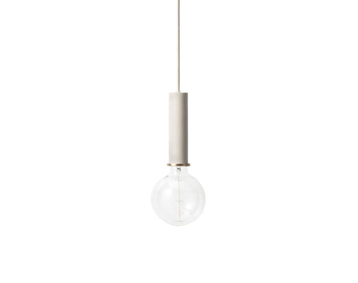 Lampa Collect, high light grey