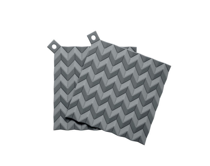 Chňapky Hold-On, 2ks, grey
