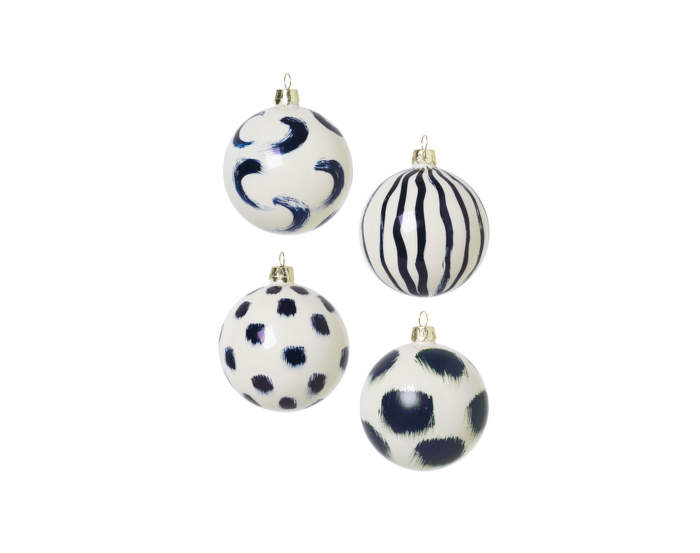 Christmas-Hand-Painted-Glass-Ornaments-Blue