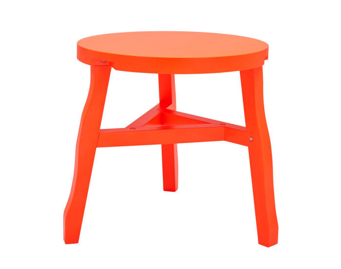 Offcut Side Table, fluoro