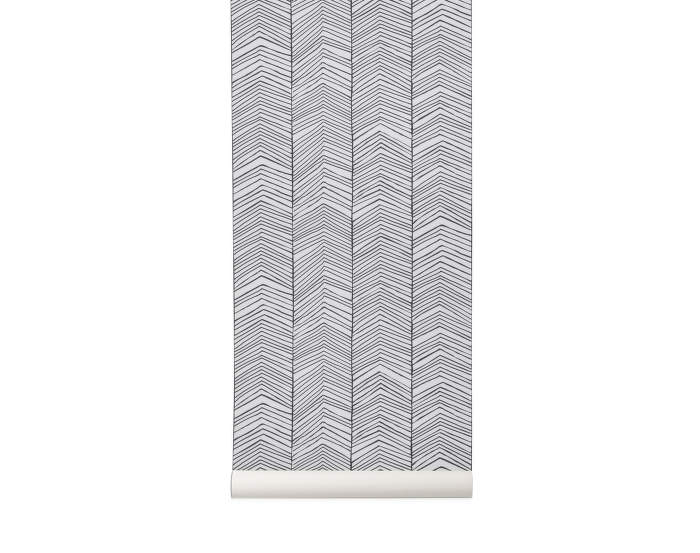 Wallpaper Herringbone, Ferm Living