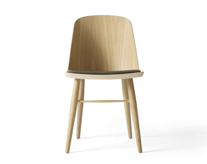 Židle Synnes Chair, oak/grey brown
