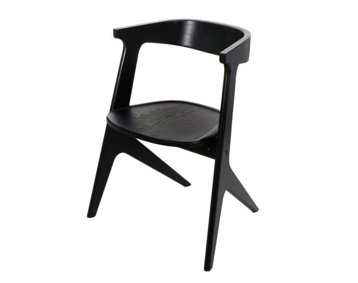 Židle Slab Chair, black