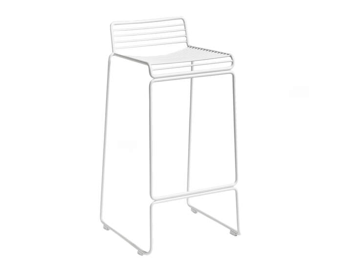 Barová stolička Hee Bar Stool, high white