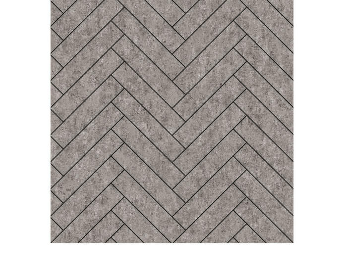 Tapeta Raw Tiles, grey