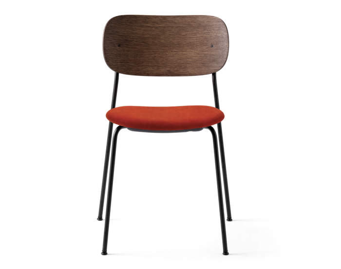 Židle Co Chair dark oak, Velvet 062