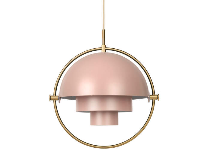Lampa Multi-Lite, rose dust/brass