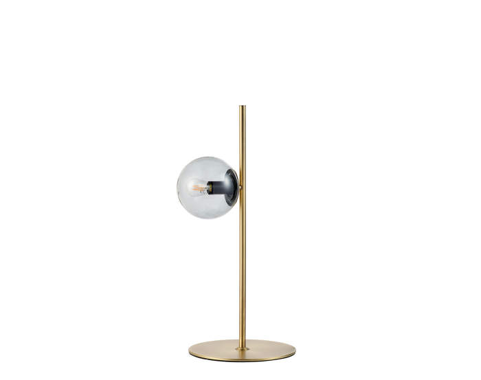 Stolní lampa Orb, Matt Antique Brass