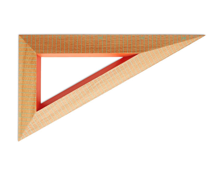 Wooden Ruler Triangle