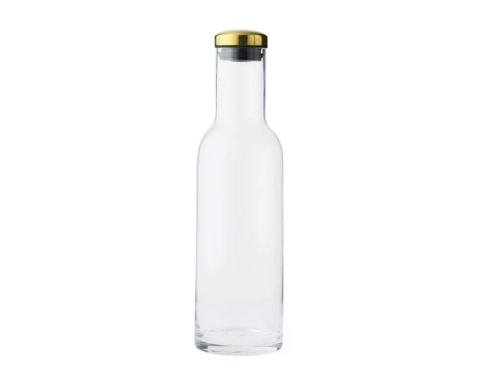 Bottle Carafe w. Brass Lid