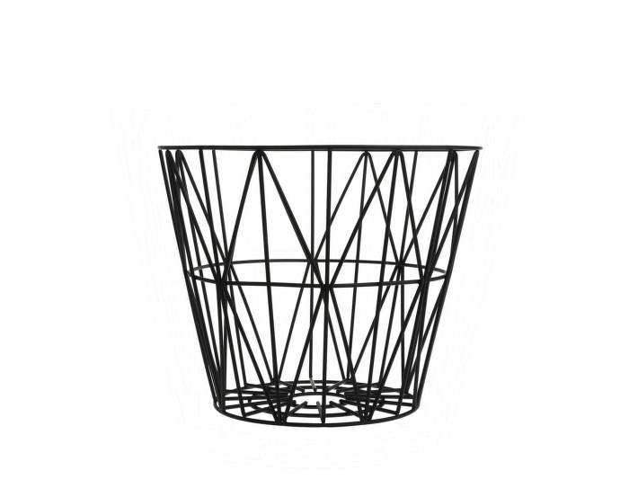 Wire Basket Small, Black