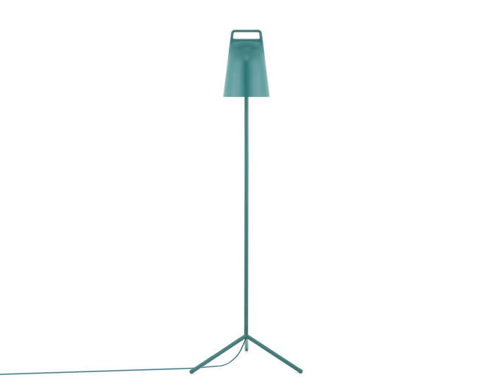 Stojací LED lampa Stage, petrol green