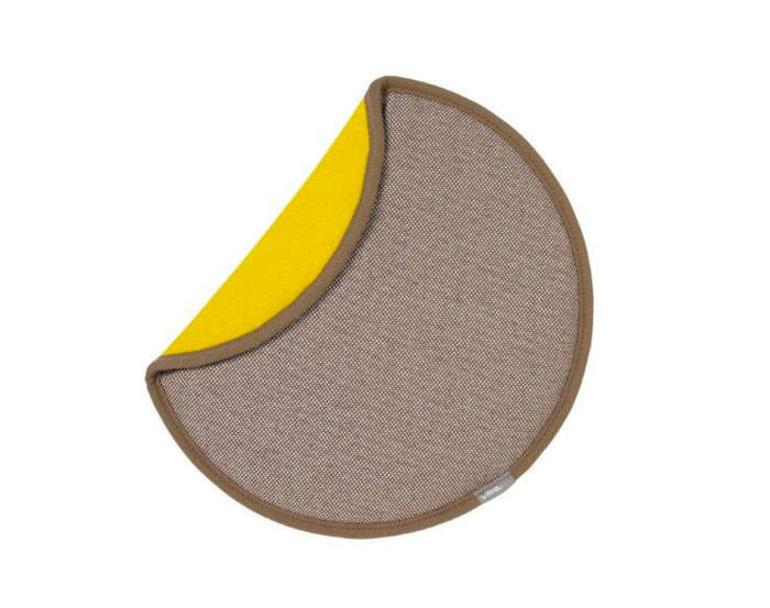 Sedák na židli Vitra Seat Dot, cream/yellow