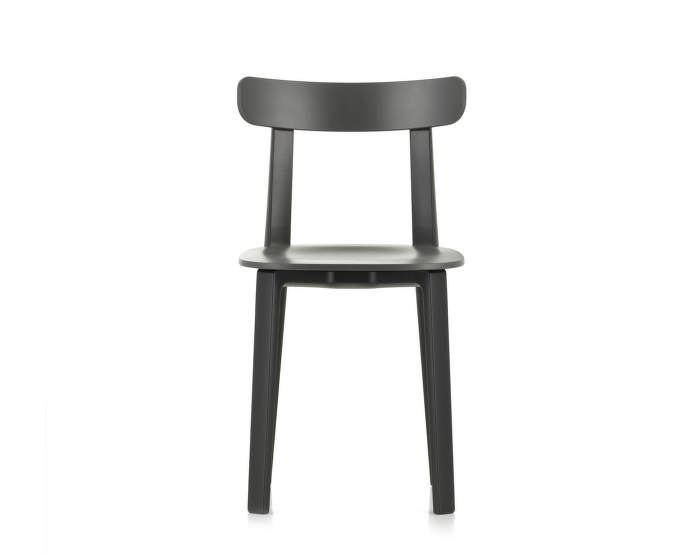 Židle Vitra All Plastic Chair, graphite grey