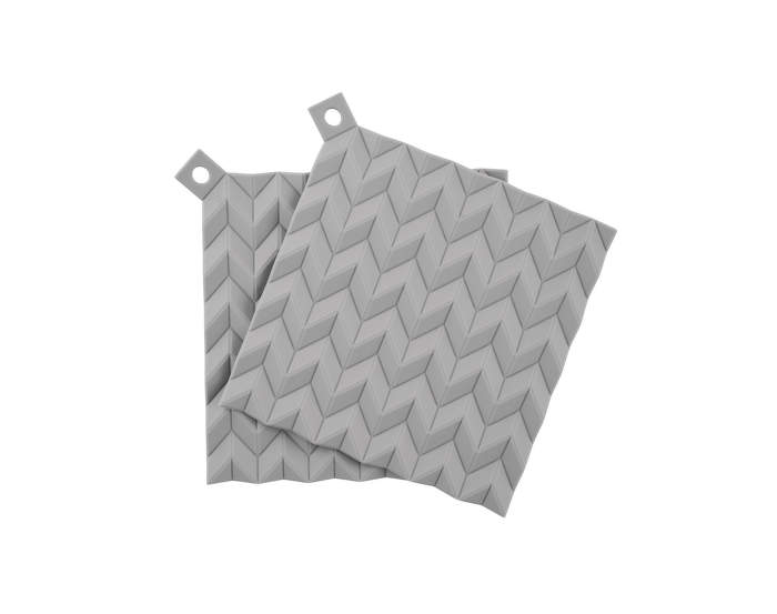 Chňapky Hold-On, 2ks, light grey