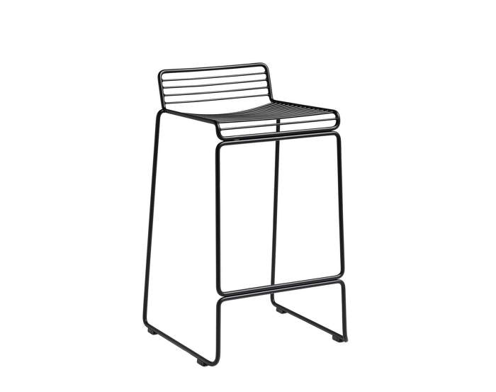 Barová stolička Hee Bar Stool, low black