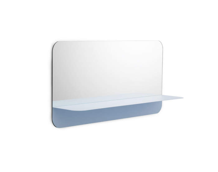 Zrcadlo Horizon Horizontal, light blue